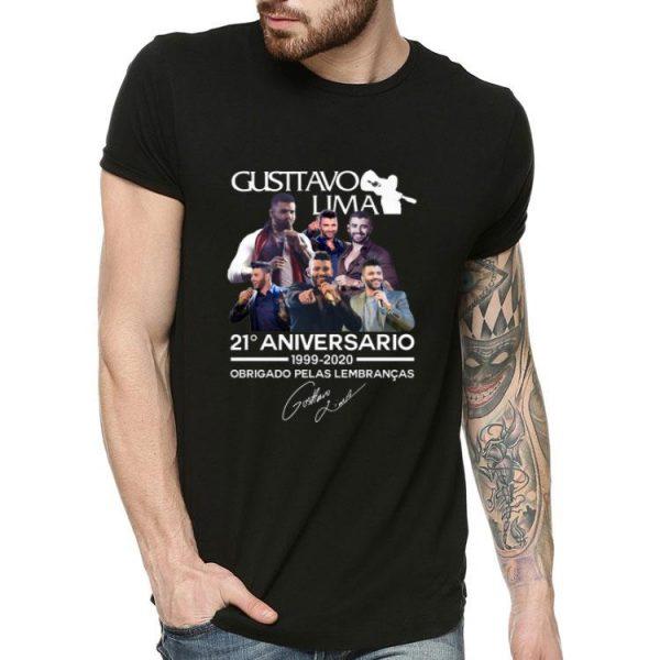Gusttavo Lima 21 Aniversario Obrigado Pelas Lembrancas Signature shirt