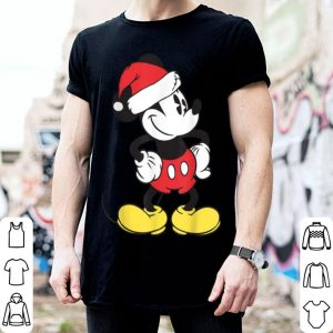 Nice Disney Mickey Mouse Santa Hat sweater