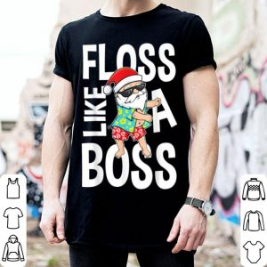 Nice Floss Like A Boss Santa Flossing Summer sweater