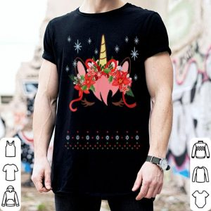 Official Christmas Unicorn Ugly Sweater sweater