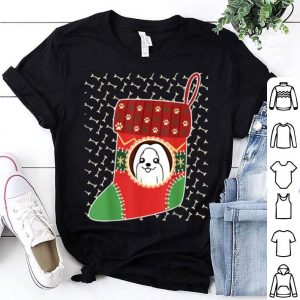 Official Maltese Christmas Stocking Merry Xmas Winter Holiday sweater