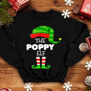 Official The POPPY ELF Group Matching Family Christmas PJS sweater