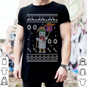 Original Lovely Robot With ELF Costume Christmas Present Merry Xmas sweater