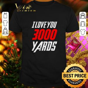 Premium Avengers Iron Man I love you 3000 Yaros shirt