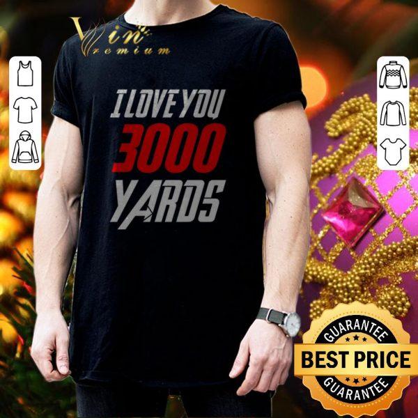 Premium Avengers Iron Man I love you 3000 Yaros shirt