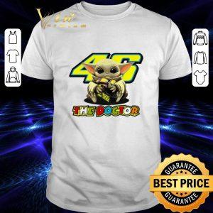 Premium Baby Yoda hug 46 The Doctor Valentino Rossi Star Wars shirt