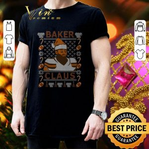 Premium Baker Mayfield Baker Claus Cleveland Brown ugly Christmas sweater 2