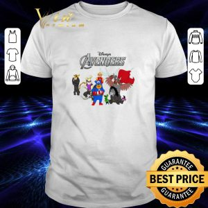 Premium Disney Winnie The Pooh Marvel Avengers Endgame shirt