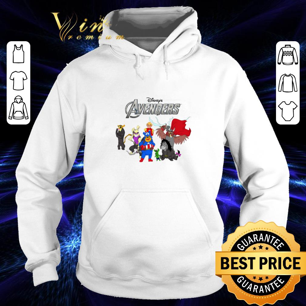 Premium Disney Winnie The Pooh Marvel Avengers Endgame shirt 4 - Premium Disney Winnie The Pooh Marvel Avengers Endgame shirt