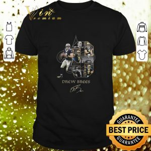 Premium Drew Brees 9 signature New Orleans Saints logo shirt