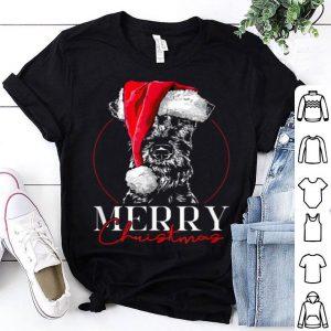 Premium Funny Santa Irish Terrier Merry Christmas dog mom gift sweater
