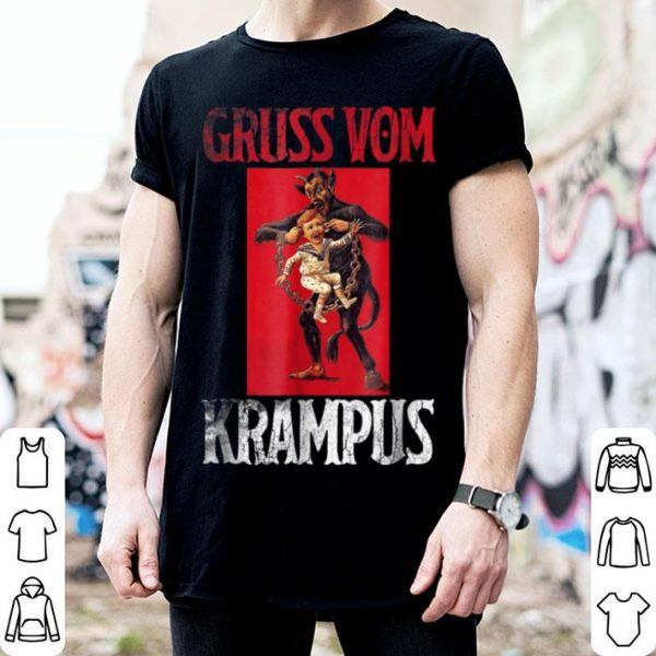 Premium Greetings from Gruss Vom Krampus Christmas Sweater sweater