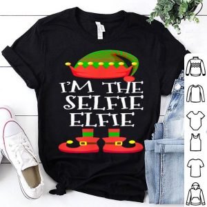 Premium I'M THE Selfie ELFIE Christmas Xmas Funny Elf Group Costume sweater