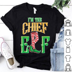 Premium I'm the Chief Elf - Elf Gifts - Family Christmas Elf Pajamas sweater