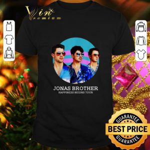 Premium Jonas Brothers Happiness Begins Tour shirt