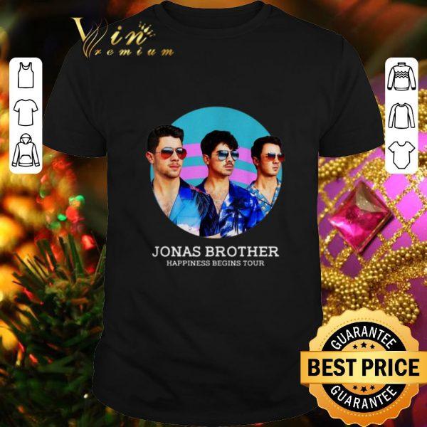 Premium Jonas Brothers Happiness Begins Tour shirt
