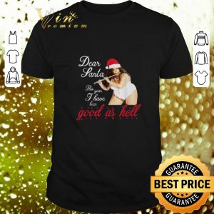 Premium Lizzo Dear Santa this year I have been good as hell shirt