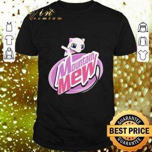Premium Mountain Mew Pokemon shirt
