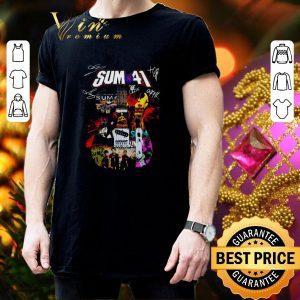 Premium Sum 41 Guitarist all signature shirt 2