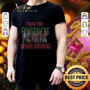 Premium Twas the Fornite before Christmas shirt 2