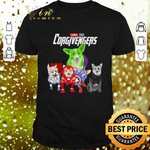 Pretty Corgi Corgivengers Avengers Endgame shirt