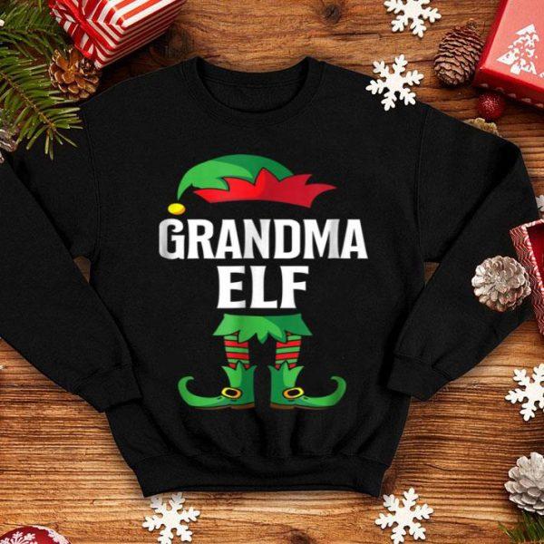 Pretty Grandma Elf Costume Christmas Holiday Matching Family sweater