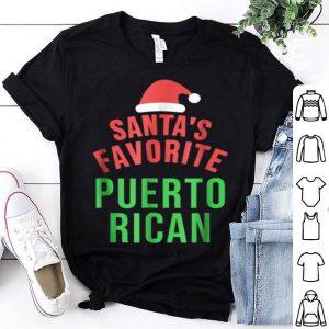 Pretty Santas Favorite Puerto Rican Funny Christmas sweater