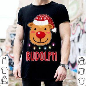 Pretty Team Rudolph Santa's Reindeer Dabbing Christmas Gift sweater