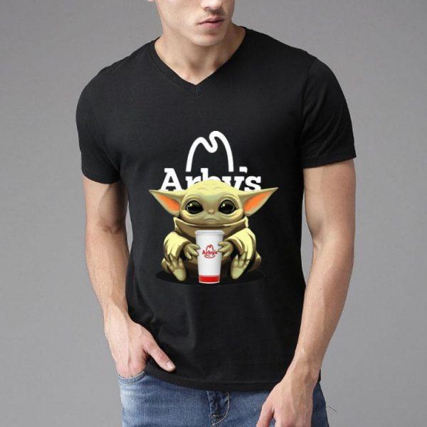 Star Wars Baby Yoda Hug Arby's shirt