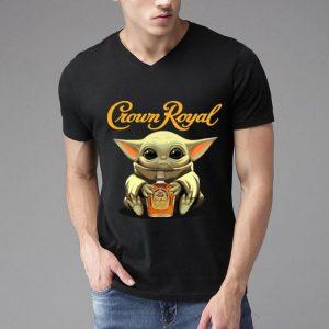 Star Wars Baby Yoda Hug Crown Royal shirt