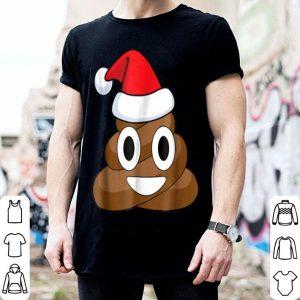 Top Poop Emoji Santa Funny Christmas sweater