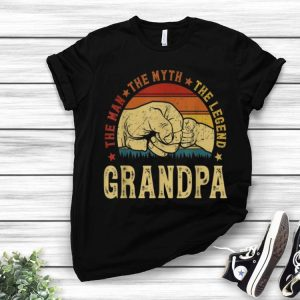Vintage Grandpa The Man The Myth The Legend shirt