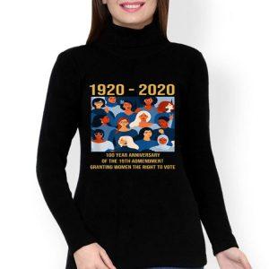 100 Year Anniversary Of The 19th Amendment Women's Right shirt