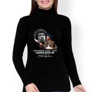 Jimi Hendrix 1942 1970 Legends Never Die Signature shirt