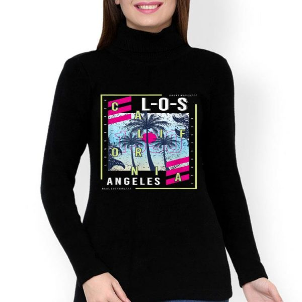 Los Angeles California Great Wave Real Culture shirt