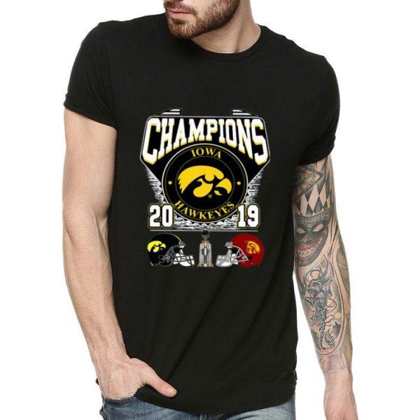 Lowa Hawkeyes Holiday Bowl Champions 2019 shirt