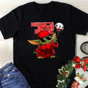 Awesome Baby Yoda New Kids On The Block Balloon Star Wars shirt