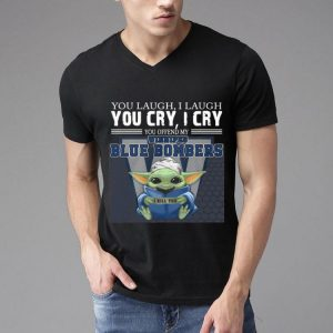 Baby Yoda You Offend My Winnipeg Blue Bombers I Kill You shirt