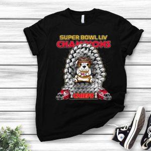 Bulldog Iron Throne Super Bowl Champions Kansas City Chiefs shirt
