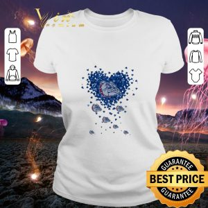 Cheap Love Folsom Bulldog tiny hearts shape shirt