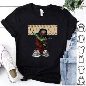 Cheap Master Yoda mashup Gucci shirt