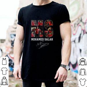 Funny MS Mohamed Salah signature Liverpool shirt