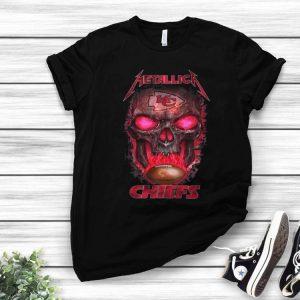 Metallica Chiefs NFL Skull Kansas City Chiefs shirt