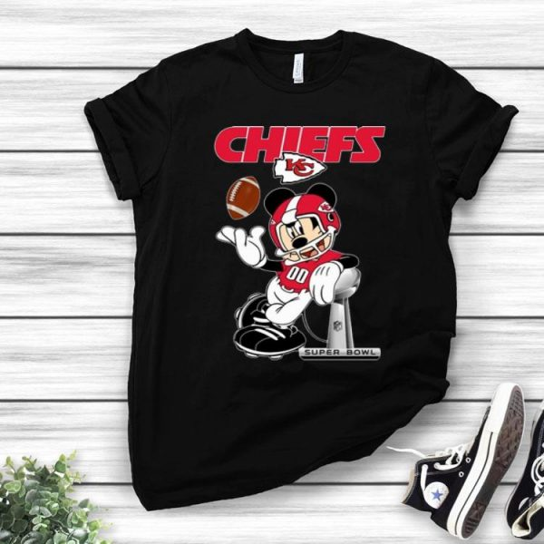 Mickey Mouse Kansas City Chiefs Super Bowl Champions shirt