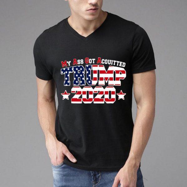 My Ass Got Acquitted Pro Donald Trump 2020 MAGA shirt