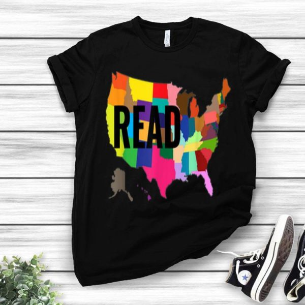 National Read America United States Read Books - Book Lovers shirt