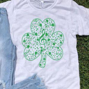 Official Shamrock Music Teacher Happy St Patrick's Day Irish Gifts shirt