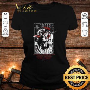Premium Dying Fetus Band GOATWHORE shirt