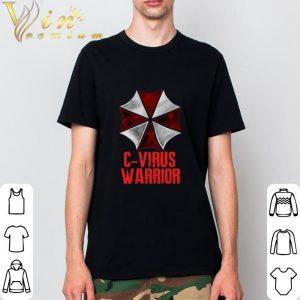 Pretty Corona Virus C-Virus Warrior shirt 1