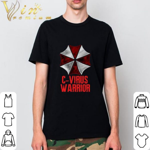 Pretty Corona Virus C-Virus Warrior shirt